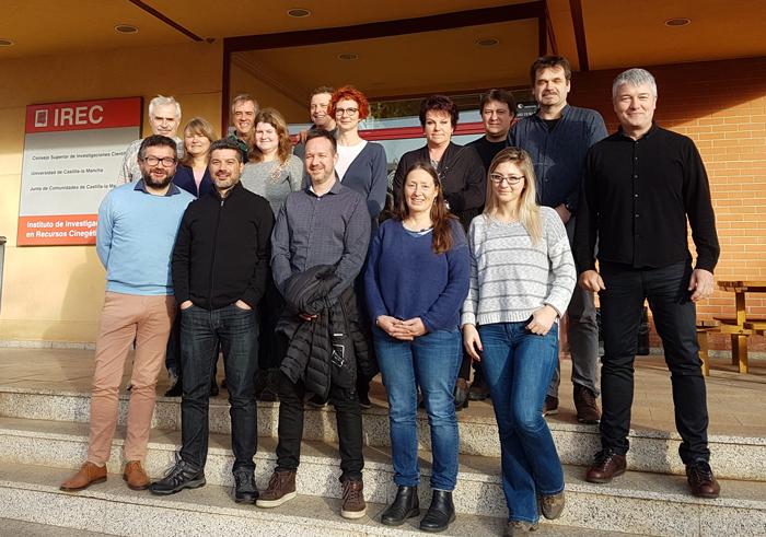 Veterinarios especialistas en vigilancia epidemiológica reciben formación en el IREC