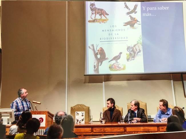 """El IREC participa en la presentación del libro """"Los mensajeros de la Biodiversidad"""""""