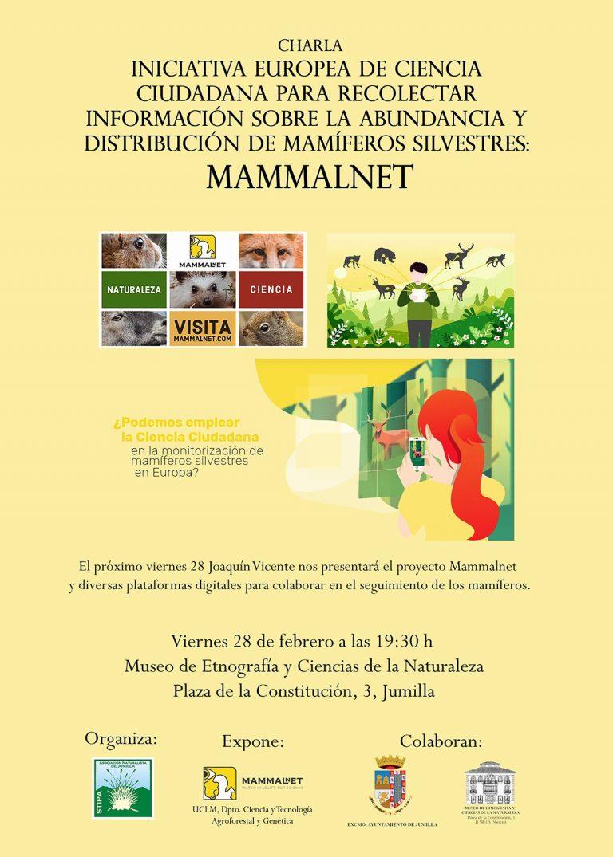 CHARLA: Iniciativa europea de Ciencia Ciudadana para recolectar información sobre los mamíferos silvestres – MammalNet
